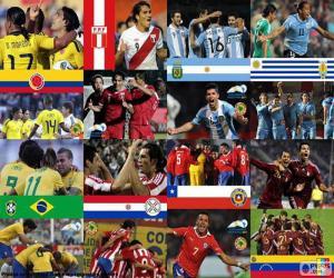 Układanka Ćwierćfinały, Argentyna 2011