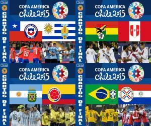 Układanka Ćwierćfinały, Chile 2015