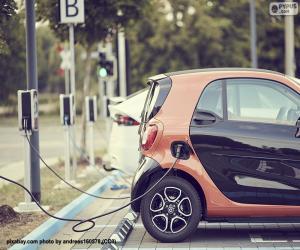 Układanka Ładowanie samochodów elektrycznych