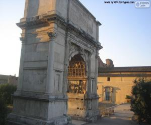 Układanka Łuk Tytusa, Rome