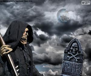 Układanka Śmierci, Halloween