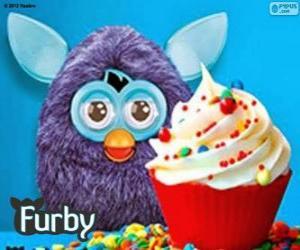 Układanka Śniadanie z Furby