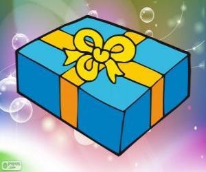 Układanka Świąteczne dar pudełko