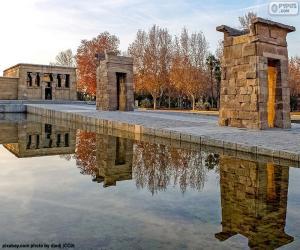 Układanka Świątynia Debod, Madryt