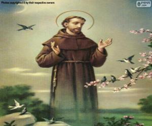 Układanka Święty Franciszek z Asyżu