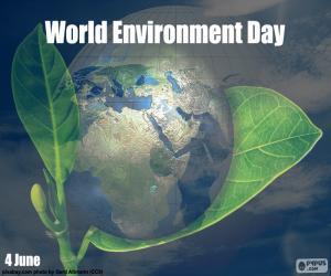 Układanka Światowy Dzień Środowiska