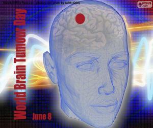 Układanka Światowy Dzień Guza Mózgu