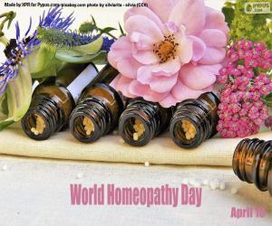 Układanka Światowy Dzień Homeopatii