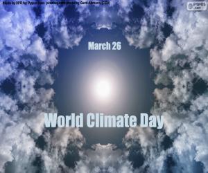 Układanka Światowy Dzień Klimatu