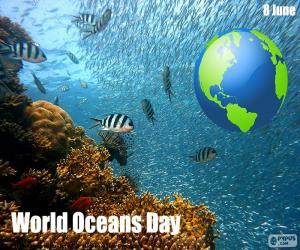 Układanka Światowy dzień Oceanów