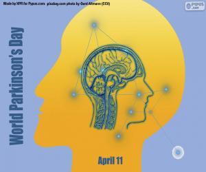 Układanka Światowy Dzień Parkinsona