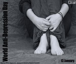 Układanka Światowy Dzień Walki z Depresją