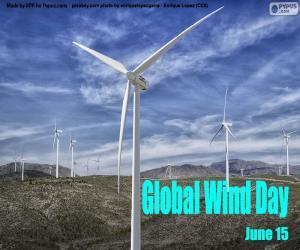 Układanka Światowy Dzień Wiatru