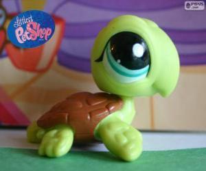 Układanka Żółw z Littlest PetShop