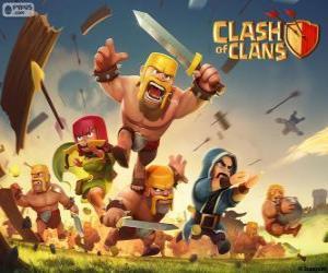 Układanka Żołnierzy, Clash of Clans