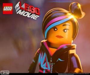 Układanka Żyleta, spontaniczna i kreatywna bohaterka filmu Lego