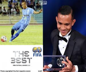 Układanka 2016 FIFA Puskas Nagroda