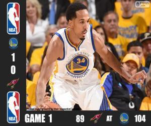Układanka 2016 NBA Finals, 1 mecz