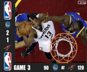 Układanka 2016 NBA Finals, 3 mecz