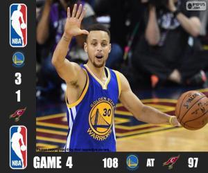 Układanka 2016 NBA Finals, 4 mecz