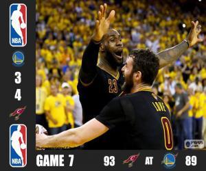 Układanka 2016 NBA Finals,  7 mecz
