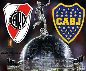 Układanka 2018 Copa Libertadores końcowe
