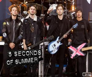 Układanka 5 Seconds of Summer, 5SOS