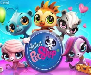 Układanka 5 zwierzęta Littlest PetShop