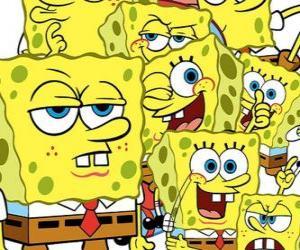Układanka Sponge Bob