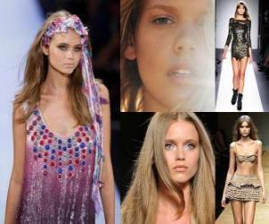 Układanka Abbey Lee jest australijską modelką