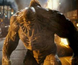 Układanka Abomination jest wrogiem Niewiarygodny Hulk