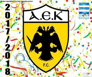 Układanka AEK Ateny, Super Lig 2017-18