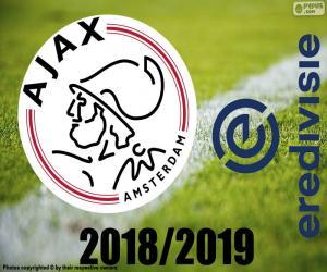 Układanka AFC Ajax, mistrz 2018 2019 r.