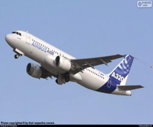Układanka Airbus A320