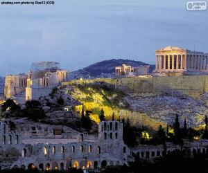 Układanka Akropol ateński, Grecja