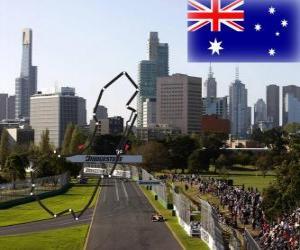 Układanka Albert Park Circuit - Australia -