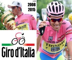 Układanka Alberto Contador, Giro 2015