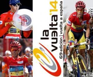 Układanka Alberto Contador, mistrz Tour Hiszpania 2014