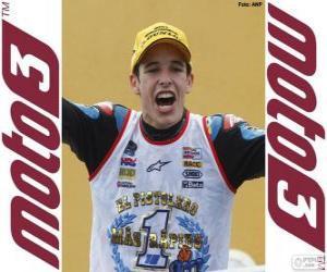 Układanka Alex Márquez, mistrz świata 2014 Moto3