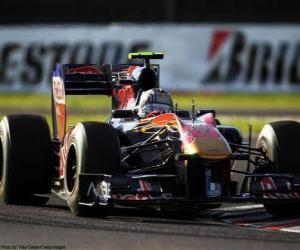 Układanka Alguersuari - Toro Rosso - Suzuka 2010