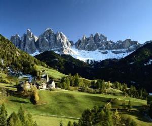 Układanka Alpy szwajcarskie
