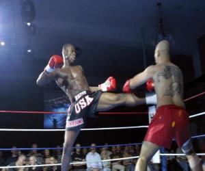 Układanka American kickboxing