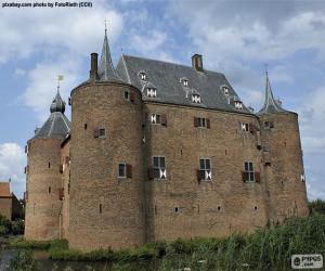 Układanka Ammersoyen Castle, Holandia