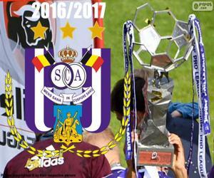Układanka Anderlecht, mistrz 2016-2017