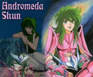 Układanka Andromeda Shun, święty brąz od konstelacji Andromedy