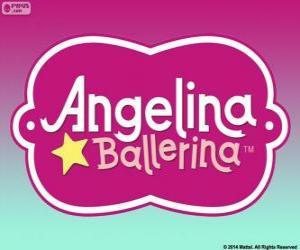 Układanka Angelina Ballerina logo