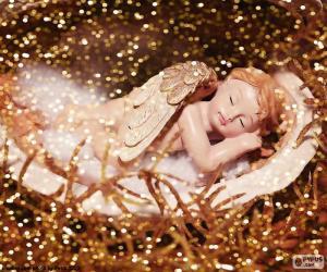 Układanka Anioł śpi
