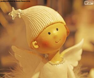 Układanka Anioł Bożego Narodzenia