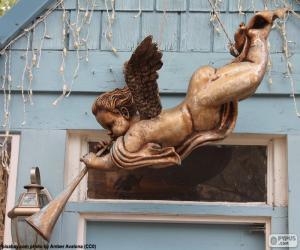 Układanka Anioł do dekoracji