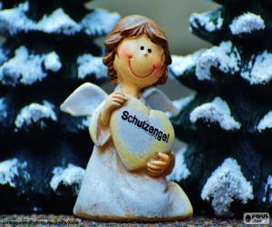 Układanka Anioł Stróż, Boże Narodzenie